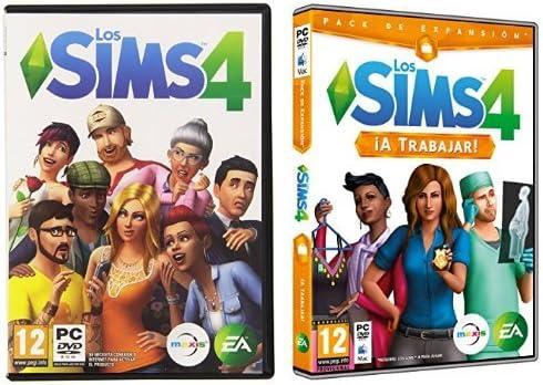 Los Sims 4 + Los Sims 4 - ¡A Trabajar!: Amazon.es: Videojuegos