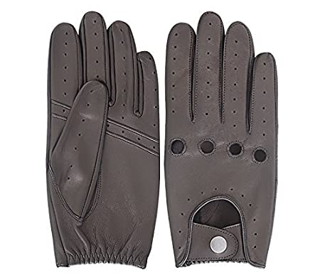 Make or Break Men/'s classic vintage style chauffeur soft genuine leather driving gloves