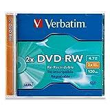 Verbatim 1PK DVD-RW 4.7GB 2X Branded