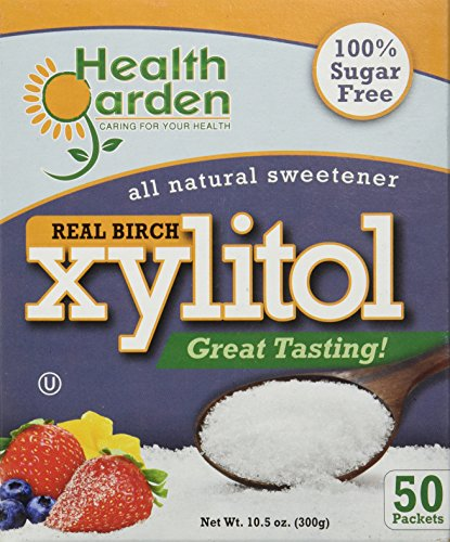Birch Xylitol Packets 50cnt. Product of USA (Not From Corn) (Xylitol Packets)