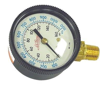 "Milton 1194 1/4"" NPT Pressure Gauge"