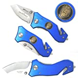 Mtech Police Law Enforcement Pocket Knife, Outdoor Stuffs