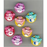 Care Bear Cakes Cupcakes - 8 Do It Yourself Re-Usable Cake Rings (party favors, too)