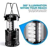 Vont 2 Pack LED Camping Lantern, Super Bright