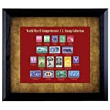 American Coin Treasures World War II Stamp Framed Collection