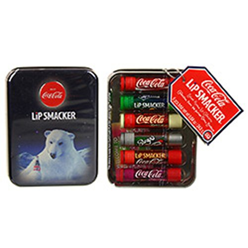 coca-cola-lip-smacker-polar-bear-gift-tin-collection-6-piece-lip-gloss