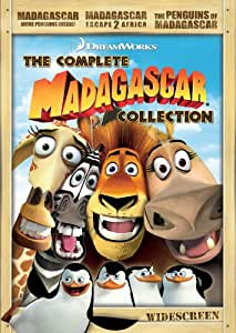 Madagascar: The Complete Collection (Madagascar / Madagascar Escape 2 Africa / The Penguins of Madagascar)