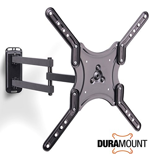 Duramount Articulating TV Wall Mount - Swivel Full Motion Ti