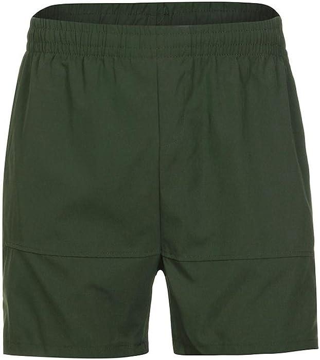 Yesmile Pantalones de Hombres Gimnasio Casual Deportes Jogging Pantalones Cortos de Cintura Elástica Aptitud