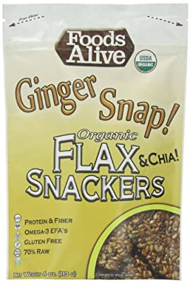 Foods Alive - Flax Crackers Mexican Harvest by Foods Alive