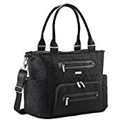 JJ Cole Caprice Diaper Tri Stitch Bag, Black