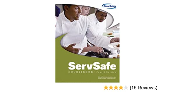 ServSafe Coursebook Fourth Edition Does Not Include The