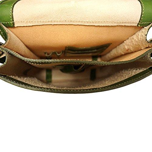 Maletín con correa para el hombro 6516 Verde