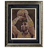NBA Los Angeles Lakers Kobe Bryant 16x20 Mosaic Framed Photo
