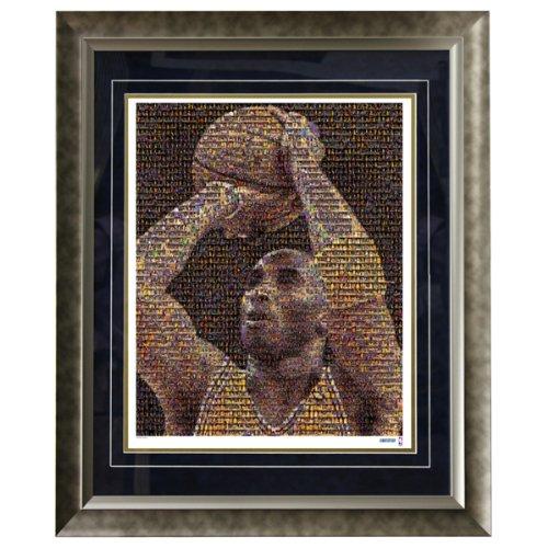 NBA Los Angeles Lakers Kobe Bryant 16x20 Mosaic Framed Photo by Steiner Sports