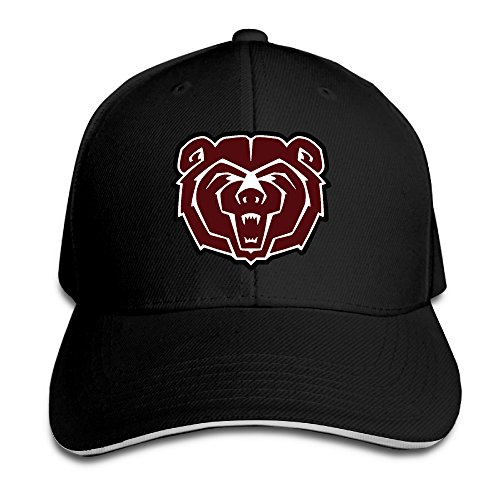 MRYLINSY Missouri State University Bears Logo Flex Baseball Cap - Inch 3.5 Bear