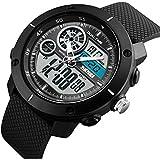 V2A Skmei S-Shock Analogue-Digital Sport Watches For Men's And Boys - Skm-1361-Black