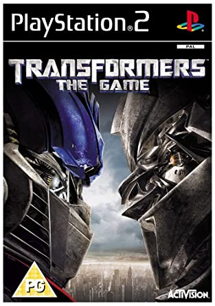 transformers ps2 game