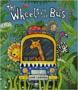 The Wheels on the Bus - Jane Cabrera - Book (Jane Wheel)