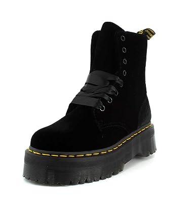 c72200f6a610 Dr. Martens Women`s Jadon Black Limited Edition Velvet Boot UK 5 ...