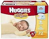 Huggies Little Snugglers Diapers - Newborn - 72 ct by Huggies by Huggies