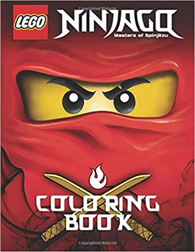LEGO NINJAGO Coloring Book: Activity Book for Kids - 40 illustrations