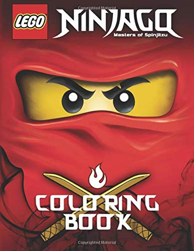 Amazon.com: LEGO NINJAGO Coloring Book: Activity Book for ...