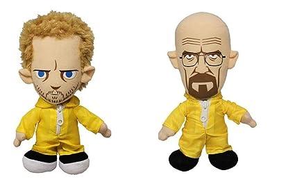 Amazon.com: Breaking Bad 2 unidades de peluche con Walter ...