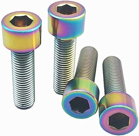 Ochoos M10 Titanium Bolt for Max 71% OFF Motorcycle Pitch Modified Max 61% OFF 25-40mm 1