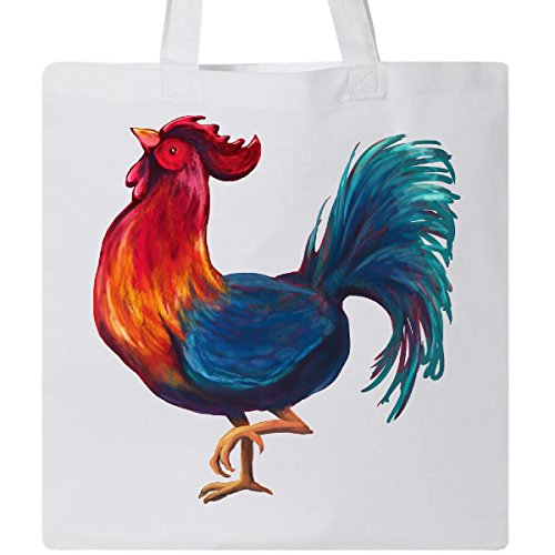 (Inktastic - Year of the Rooster Tote Bag White 2768d)