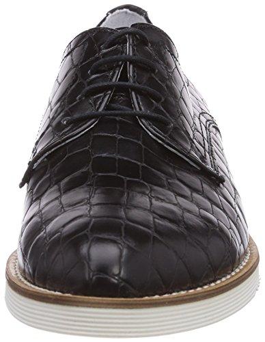 Black Noir Tamaris Femme 006 Struct Lacets 23214 Derbies Schwarz à Xw0r4X