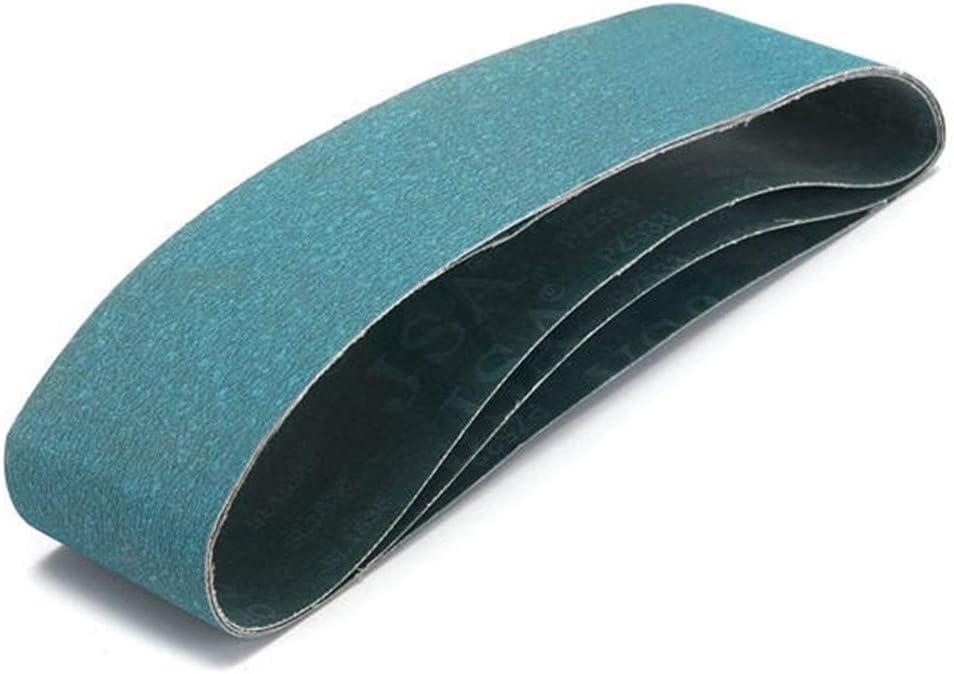 CHUNSHENN Abrasives 3pcs 915X100mm 120 Grit Abrasive Sanding Belts Metal Grinding Sanding Belts tool Abrasive Accessories