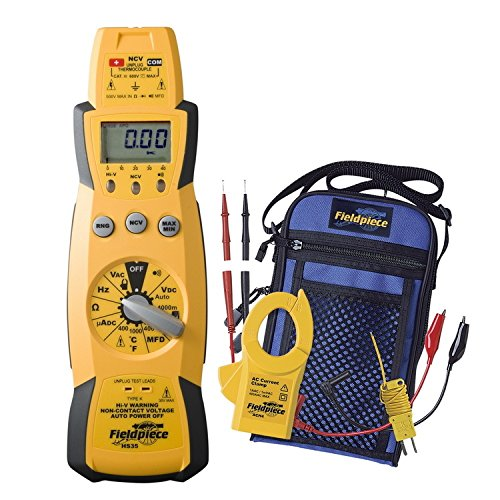 Fieldpiece Stick Meter - Fieldpiece Expandable Manual and Auto Ranging Stick Multimeter - HS35