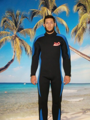 7mm Men's Full Length Wetsuit, Size 3x BIG and Tall Item# 8851