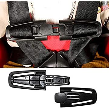 Child Kids Baby Car Safety Seat Strap Toddler Chest Harness Clip Safe Buckle Pad Car Interior