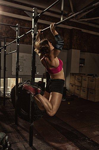 Venom Strapped Elbow Brace Compression Sleeve - Elastic Support for Tendonitis Pain, Tennis Elbow, Golfer's Elbow, Arthritis, Bursitis, Basketball, Baseball, Golf, Lifting, Sports, Men, Women (Medium) by Venom Sports Fitness (Image #4)