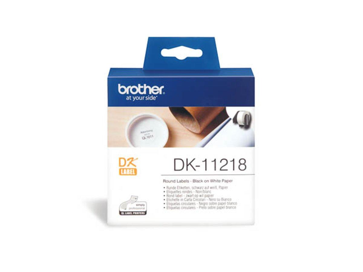 Brother P-Touch QL 580 N (DK-11218) - - - original - P-Touch etikettes - 24mm 228b7d