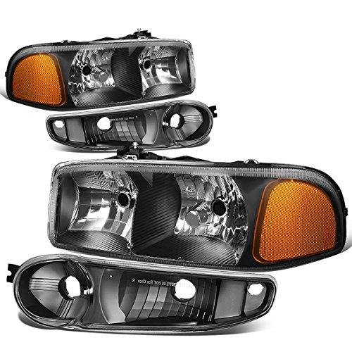 01 gmc sierra crystal headlights - 9