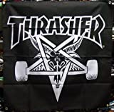 (スラッシャー) THRASHER スケートゴート バナー