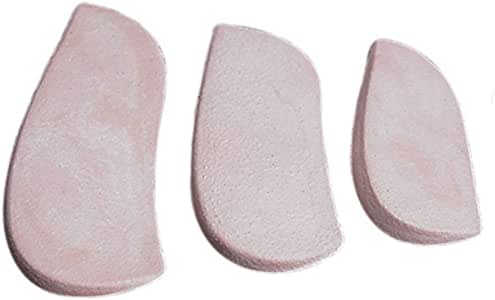 """AliMed Molded Rubber Heel Wedges Large, 4-1/2""""L, 12 Pairs"""