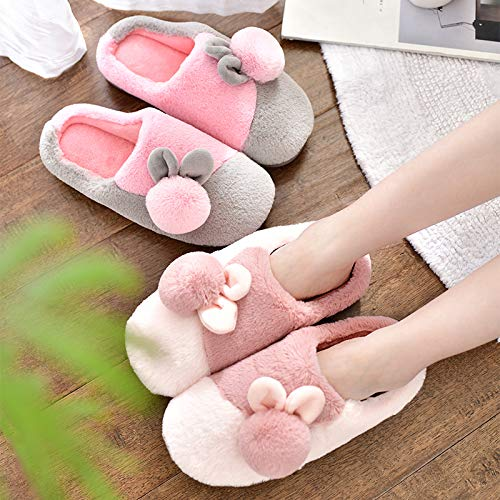 inverno casa morbido coperta delle caldo donne D antiscivolo peluche scarpe fondo di cotone YMFIE Pantofole comodo casa Fqgw8g