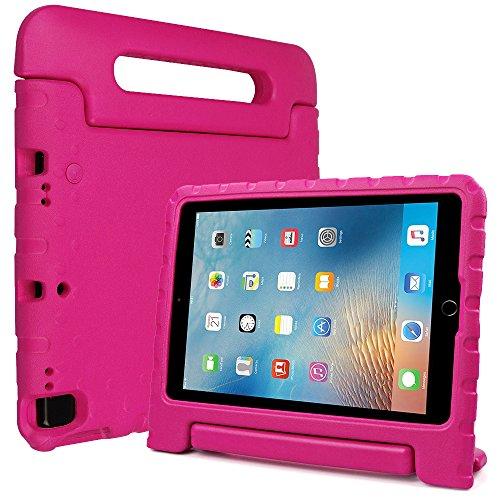 [해외]Bolete 케이스 맞는 아이 패드 공기 3 세대 10.5 \\ / Bolete Case fit iPad Air 3rd Generation 10.5 2019iPad Pro 10.5 2017 Carry Handle Child friendly Shockproof Protective Cover for Apple iPad Air 10.5 2019iPad Pro 10.5 2017 Rose