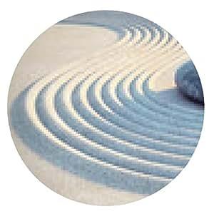 alfombrilla de ratón Piedra y líneas en la arena - ronda - 20cm