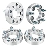 4PCS 1.25'' Hub Centric Wheel Spacers 5X4.25 to 5X4.5 73.1mm 12x1.5 Studs 5lug Wheel Adapters 5x108 to 5x114 For Ford Jaguar Lincoln Volvo