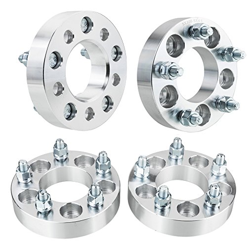 4PCS 1.25'' Hub Centric Wheel Spacers 5X4.25 to 5X4.5 73.1mm 12x1.5 Studs 5lug Wheel Adapters 5x108 to 5x114 For Ford Jaguar Lincoln Volvo by Autoforever
