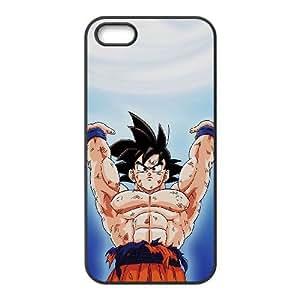 iPhone 5 5s phone case Black Dragon Ball Goku DDRK5353469