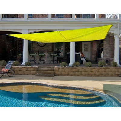 King Canopy PC2001216Y 16-Feet by 16-Feet Quadrilateral S...