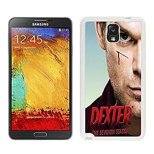New Unique DIY Antiskid Skin Case For Samsung Note 3 Dexter Samsung Galaxy Note 3 White Phone Case 119 Samsung Galaxy Note3 White Phone Case 119
