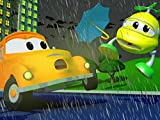 The Helicopter Hit a Flying Umbrella/Lily the Bus Crashed Into Ben's Farm! / Police Car Crashed into a lamp post! / The Racing Car floods his engine