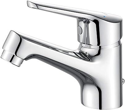 Oferta amazon: Ibergrif M11050 Roma, Grifo Baño Clásico, Mezclador Monomando para Lavabo, Cromo, Plata